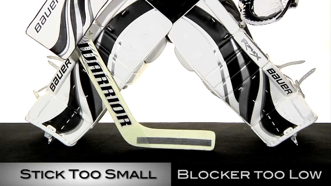 How to size  goalie stick also youtube rh