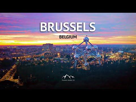 Brussels Belgium in 4K   Bruxelles City (2020)