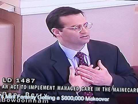 House Majority Leader Seth Berry (D-Bowdoinham) in support of LD 1487