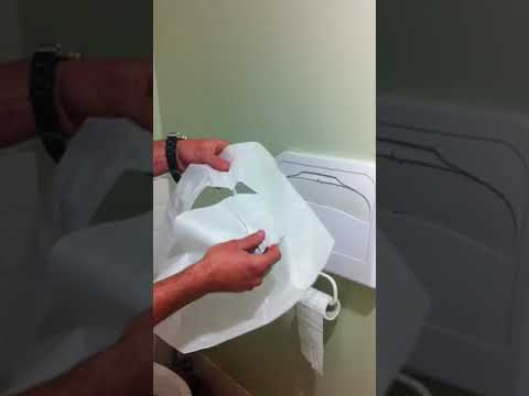 How to use a Disposable Toilet Seat Cover