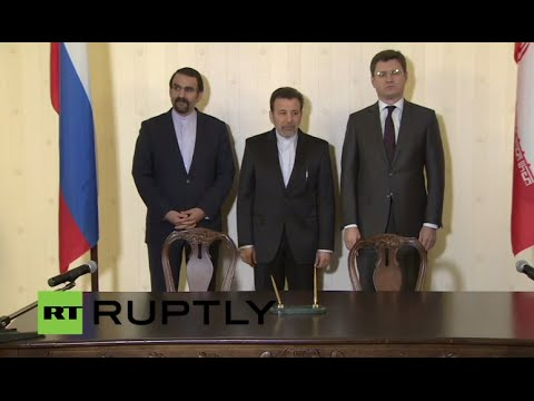 LIVE: Novak and Vaezi speak to press after Russian-Iranian meeting on trade and economics (ENGLISH)