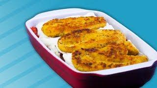 Шницель-Лазанья Из Курицы: Этот Рецепт Идеально Совмещает Два Любимых Блюда