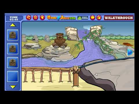 Feed The Hungry Bear Walkthrough - Games2Jolly