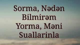Ahmed Mustafayev Sev Meni Lyrics