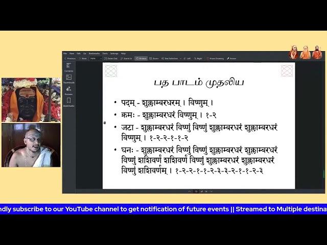 வேத பரிச்சயம் | Veda Parichhayam | பிரம்மஸ்ரீ Dr. ஸ்ரீரமண சர்மா | The 8000 Trust Upanyasa Series 1