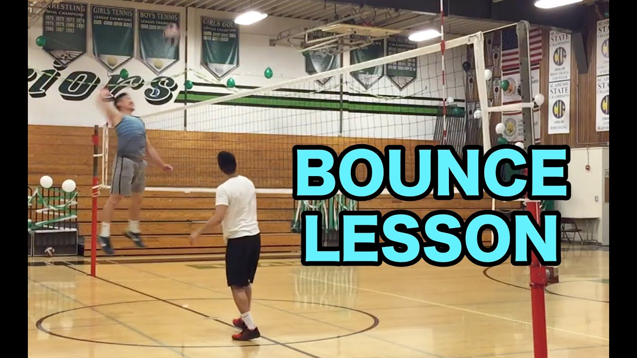 How To Bounce A Volleyball Volleyball Tutorial Youtube