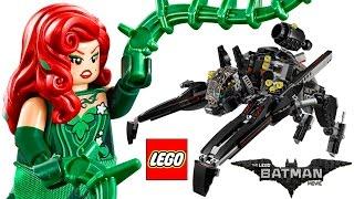 LEGO BATMAN MOVIE The Scuttler 70908   LEGO Speed Build + Review - BrickQueen