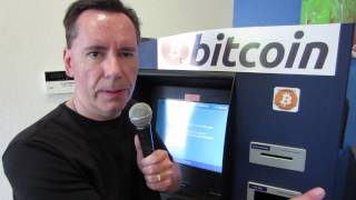 Cary Peters owner of Bitcoin ATM Kiosk in Mountain View, CA