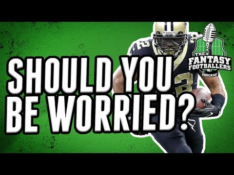 Should Fantasy Football Owners be Worried About Mark Ingram?