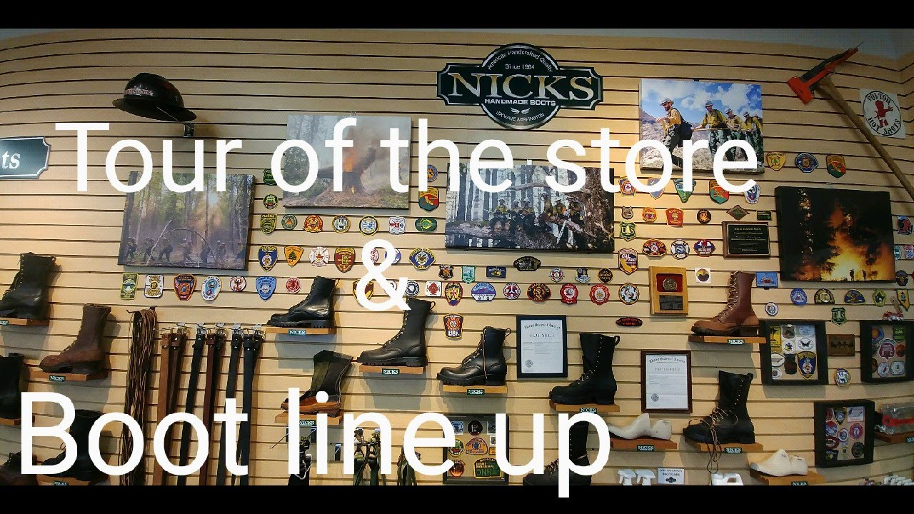 How To Remove Ink From Leather >> Nicks boots store tour and boot line up. 2017 made in the ...