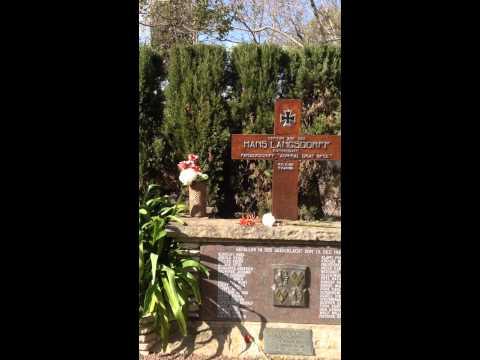 Captain  Hans Langsdorff Grave - Buenos Aires - 07/2015