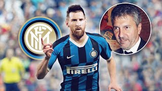 Urgent reports have come in from italy, messi is a step closer to moving inter milan! messi's father paving the way for move milan and this dramat...