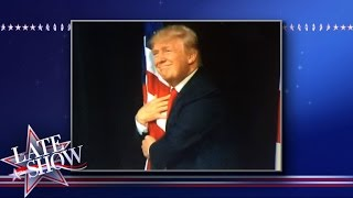 Don't Let Your American Flag Near Donald Trump by : The Late Show with Stephen Colbert