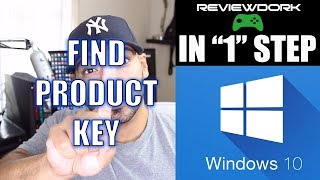 How to Find Windows 10 Product Key (IN ONE STEP)(, 2017-08-05T14:45:40.000Z)