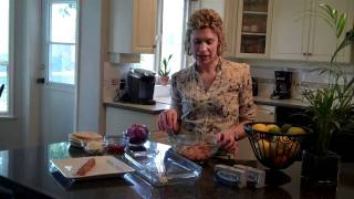 Curry Pork Kabobs With Mango Cream Sauce By Jennifer Peters