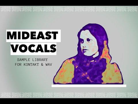 Rast Sound - Mideast Vocals (for Kontakt & WAV)