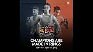 Cult Pro Boxing Bout 6 : Asad Asif Khan Vs Larry Abarra