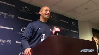 Penn State Nittany Lions Football: James Franklin - Rutgers postgame