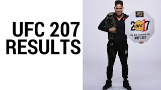 UFC 207 Results: Ronda Rousey KO'd By Amanda Nunes