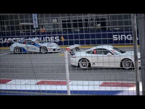 F1 2016 Singapore Grand Prix - Porsche Carrera Cup Asia - Race