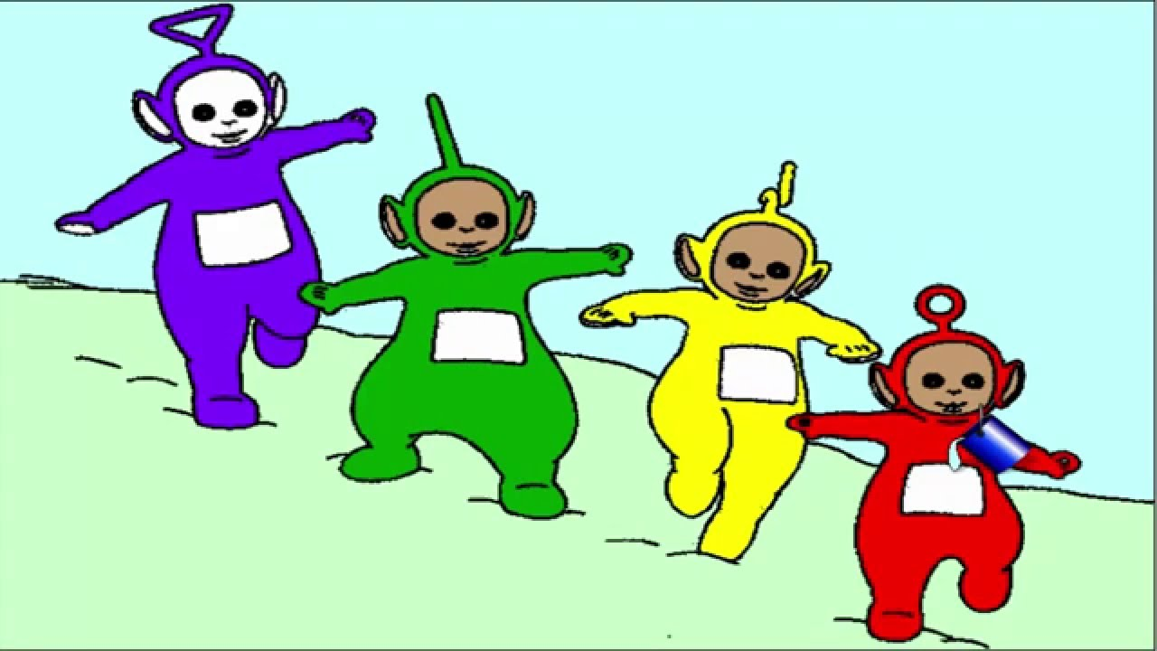 Teletubbies Pages Coloring Pages - Coloring Pages For Kids - YouTube