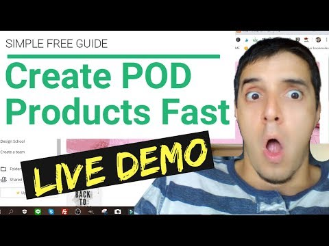 How To Create Print On Demand Products With Canva And GIMP thumbnail