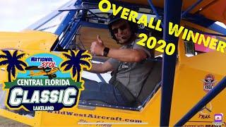 Florida STOL 2020, Flying in the winning Highlander with Steve