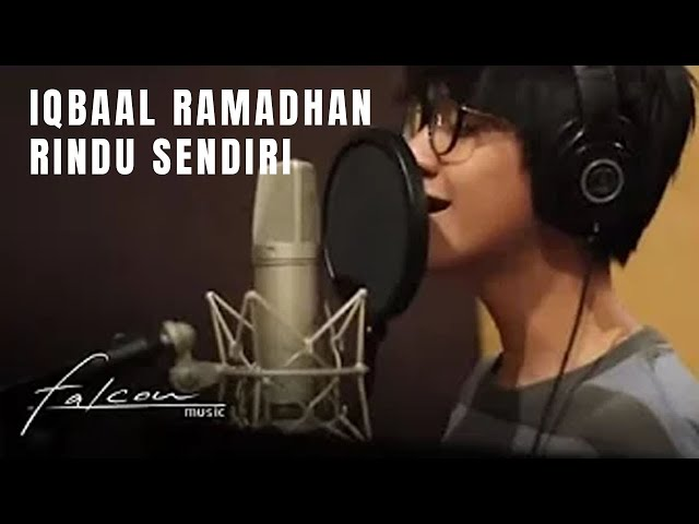 "Official Lyric Video ""Rindu Sendiri - Iqbaal Ramadhan"" 
