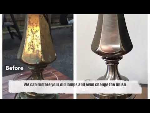 Lamp Repair Oakland | Chandelier Repair | Custom Lampshades | Antique Lighting Restoration