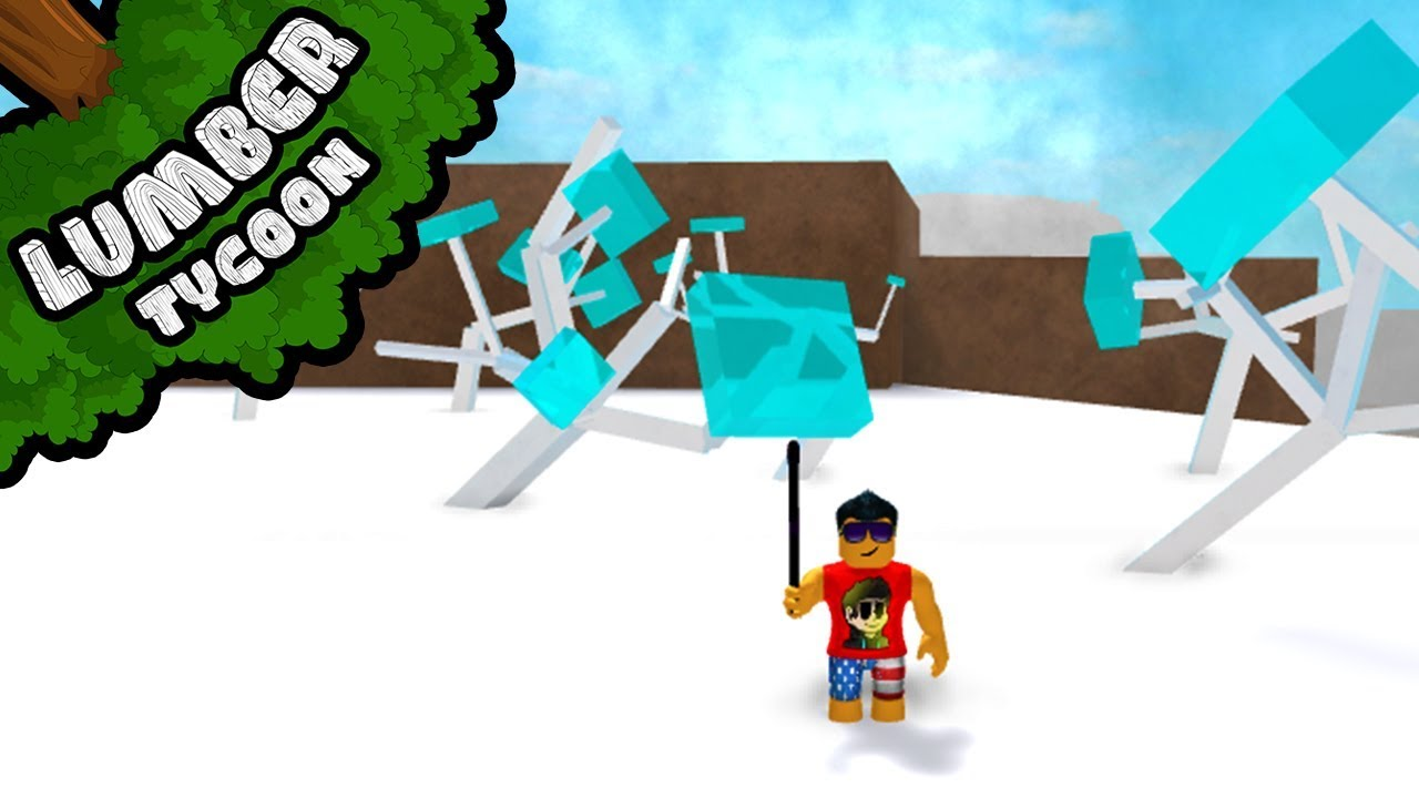 New Ice Trees Location In Lumber Tycoon 2 Roblox