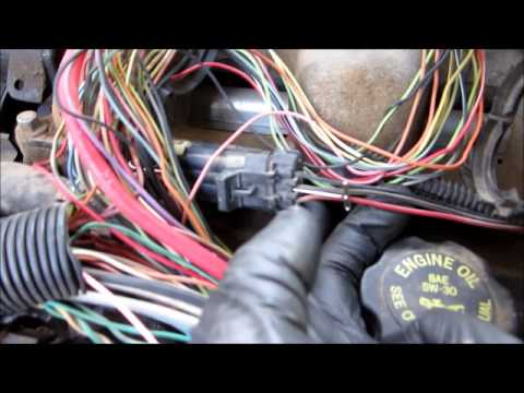 1996 Ford Taurus Wiring Diagram No Start No Injector Pulse Thanks Paul Danner Wmv Youtube