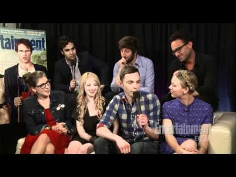 The Big Bang Theory - Comic Con 2011 Interview - EW