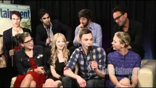 The Big Bang Theory - Comic Con 2011 Interview - EW