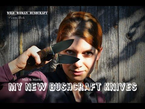 "My new bushcraft-knives "" Max and Moritz "" Vanessa Blank — Wild Woman Bushcraft"