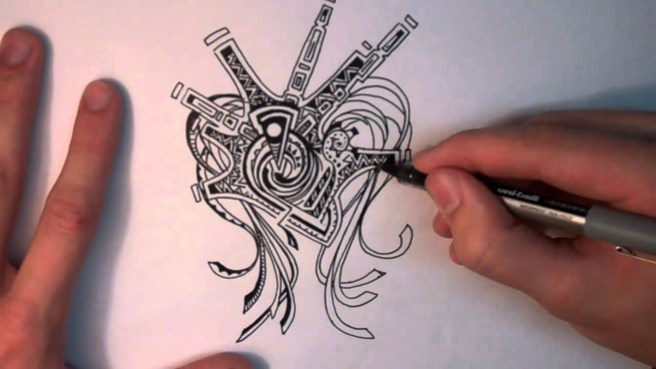 How to Doodle: What I Think When I Draw - YouTube