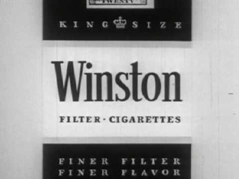 Winston Cigarettes Commercial (1955)