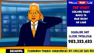 📠TRANSFER DEADLINE DAY 2014📠 JIM WHITE PARODY by 442oons (Sky Sports funny cartoon)