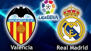 Valencia - Real Madrid 2:2 Goals Benzema, Parejo, Bale, Alcacer and Highlights 2015/16 LaLiga