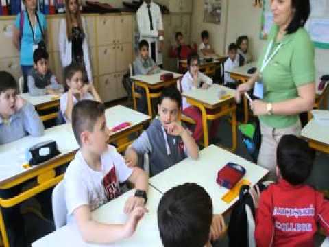 "Neuron English Romania  class, in Turkey - ""How our brain works"""