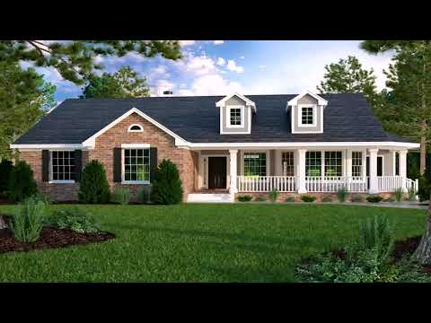 4 Bedroom Brick Ranch House Plans