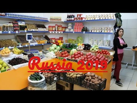 A walk in the Russian food market,Astrakhan