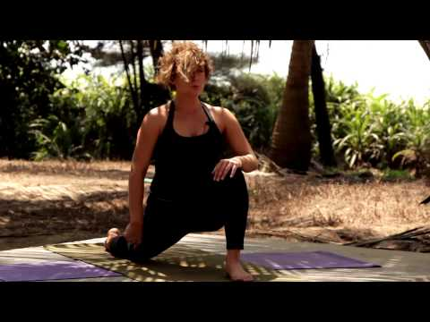 Darya Kashirskaya.Hatha Yoga -Easy Ground Work - Full 58 Minute
