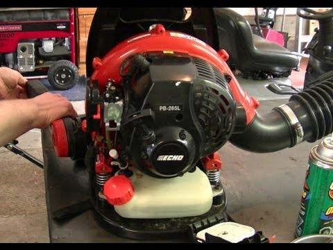 Carburetor Replacement On Echo PB265L Back Pack Leaf Blower