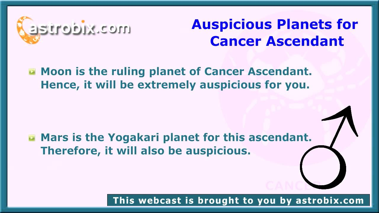 Cancer Ascendant - Characteristics of Cancer Sign