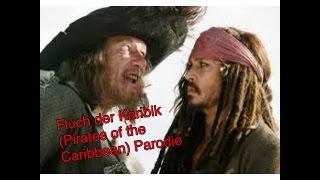 Karibik Parodie der Piraten Die echten