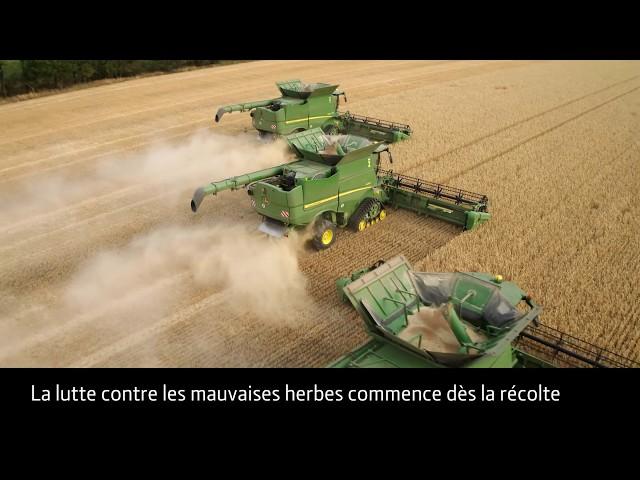 Unité de contrôle des graines de mauvaises herbes