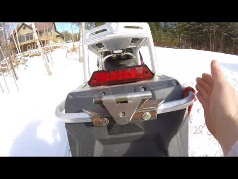 Homemade Snowmobile Tow Hitch