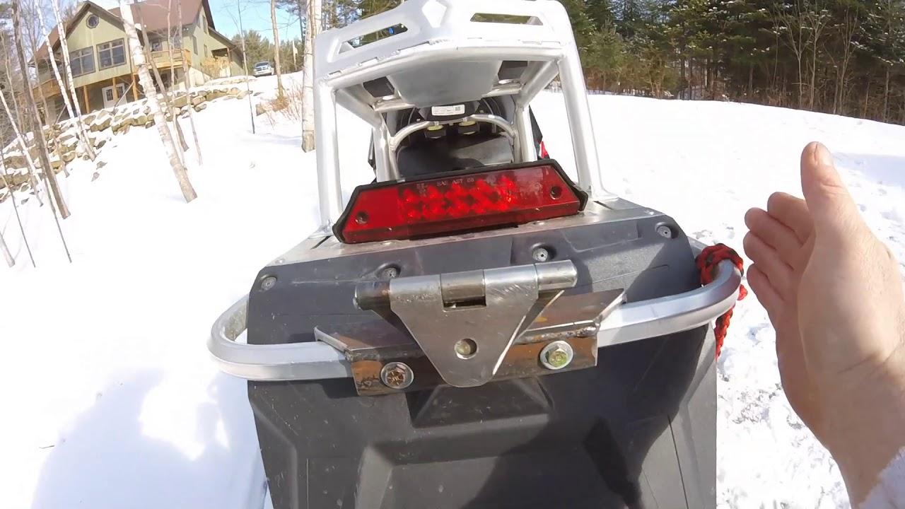 Polaris Snowmobiles J-Hook Hitch Adapter