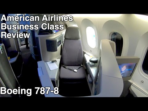 Flight Review | American Airlines | Business Class Brunch Service | Boeing 787-8 | ORD-LHR