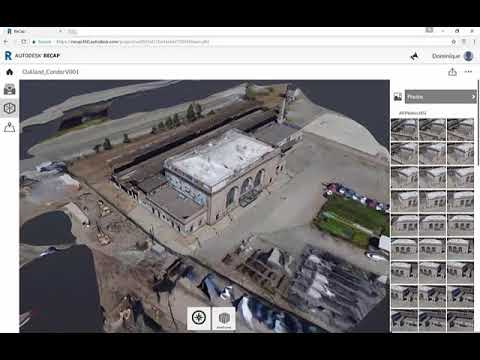 Processing Drone Photos into 2D and 3D Data with Autodesk® ReCap™ Photo